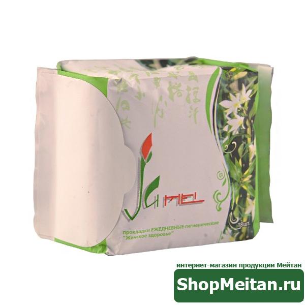 Ежедневные гигиенические прокладки «Женское здоровье», 18шт