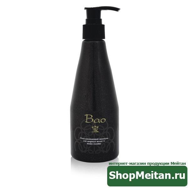 Омолаживающий шампунь для жирных волос и кожи головы, 250мл