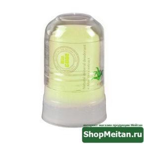 Природный дезодорант-минерал с экстрактом Алоэ Вера, 45г