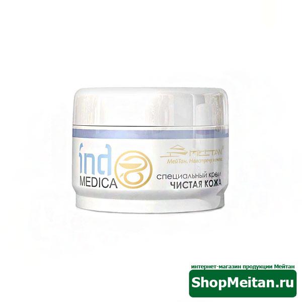 Специальный крем «Чистая кожа» от псориаза и дерматитов, 50г