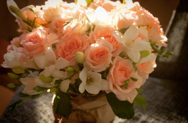 Самый нежный букет цветов