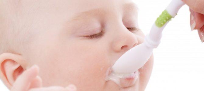 Как составить рацион питания ребенка до года