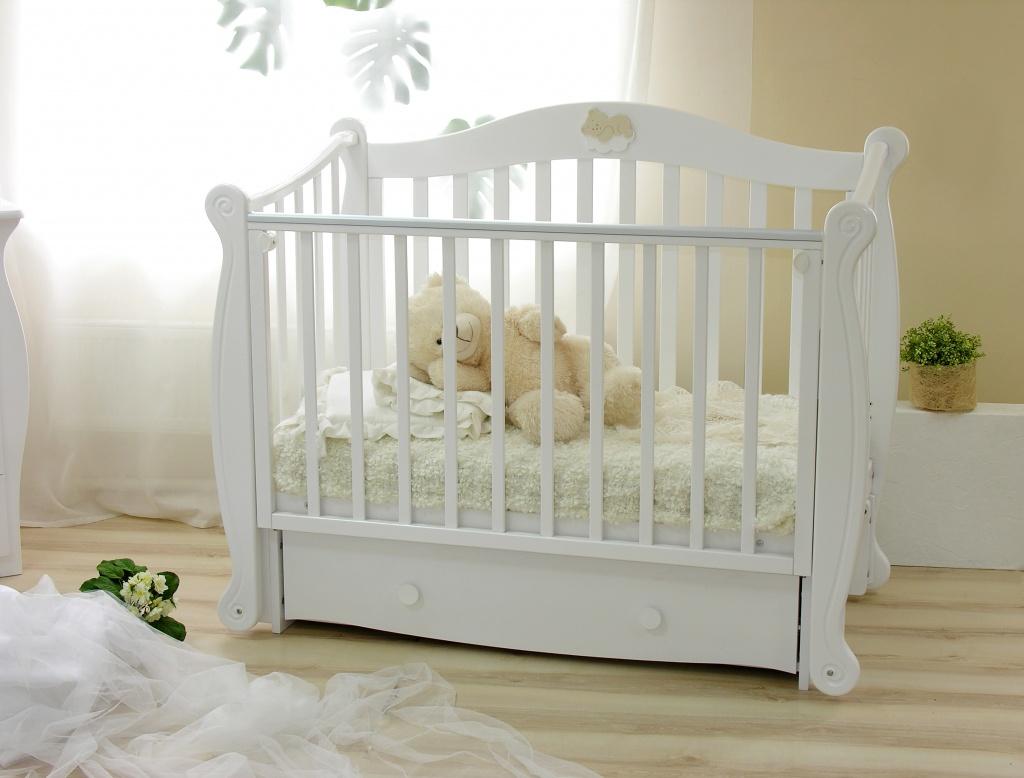 кроватки для новорожденных фото
