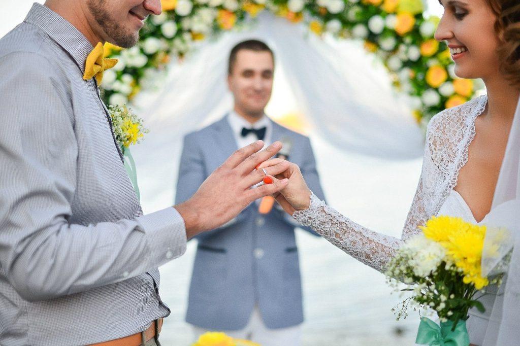 Ведущая для поздравления на свадьбе 421