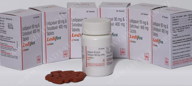 Специфика терапии ВГС 1 и 4-го генотипов с помощью препарата Ледифос