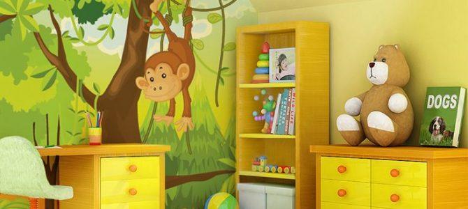 Работаем над дизайном детской комнаты: выбираем обои